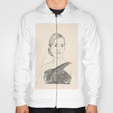 Kate Winslet Portrait Hoody