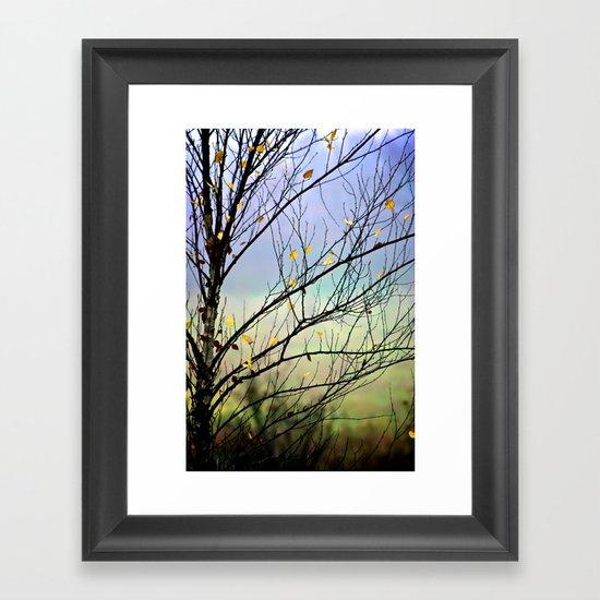 Riverbirch Framed Art Print