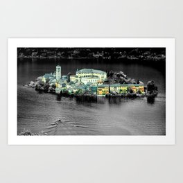 Lago d'Orta Art Print