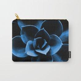 Dark Blue Succulent Plant #decor #society6 #homedecor Carry-All Pouch