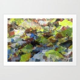 Paper Access Art Print