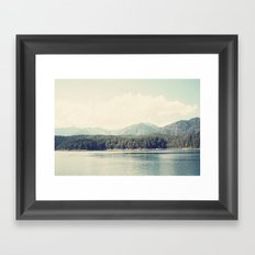 in the shadow of the alps ...  Framed Art Print