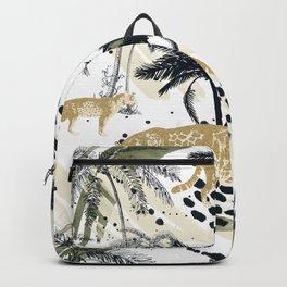 Autumn season of the Jungle I Backpack