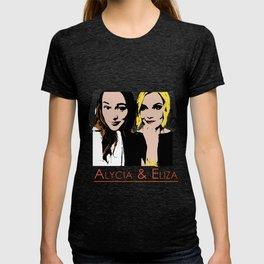 Alycia & Eliza Comic T-shirt