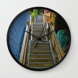 Old Cape Cod Stair Steps Wall Clock