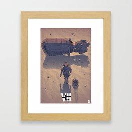 VII Framed Art Print
