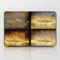 ships iPad Cases featuring Ships by Anki Hoglund