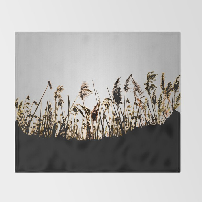 Field of Freedom Throw Blanket