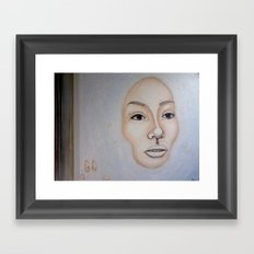 I will not sink Framed Art Print