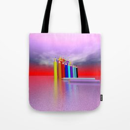 time to draw a picture -2- Tote Bag