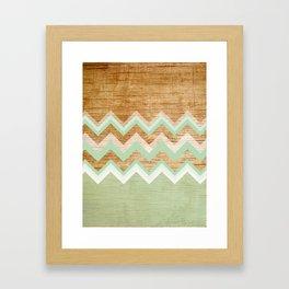 Wood Gerahmter Kunstdruck