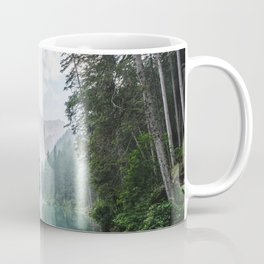 Forest Reflection in Italy Coffee Mug