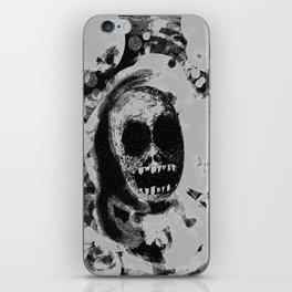 Fadin' grey iPhone Skin