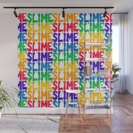 Rainbow SLIME Wall Mural