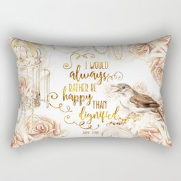 Jane Eyre - Dignified Rectangular Pillow
