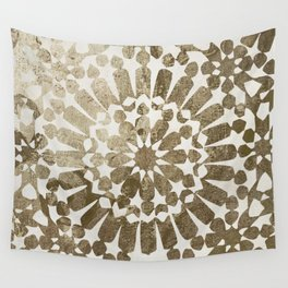 Moroccan Gold I Wall Tapestry