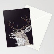Deer (remindeer) Stationery Cards