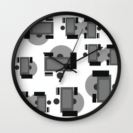 Disc Jockeys Wall Clock
