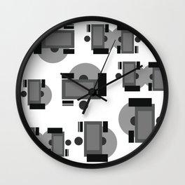 Disc Jockeys Wall Clock