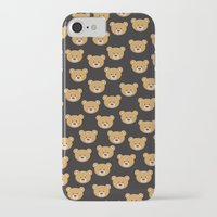 moschino iPhone & iPod Cases featuring teddy bear pattern by Marta Olga Klara