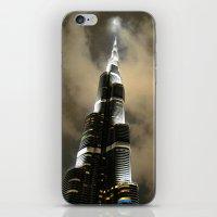 wiz khalifa iPhone & iPod Skins featuring Burj Khalifa - Dubai by Ruby_Dag