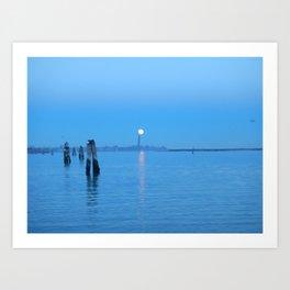 tramonti_veneziani Art Print