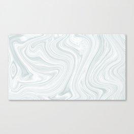 marbled silt Canvas Print