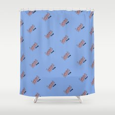 Ugly Cry Club Shower Curtain