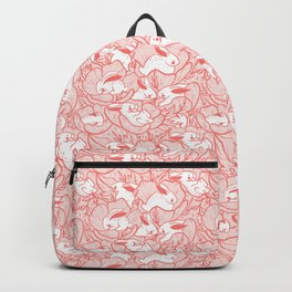 Where the bunnies sleep (rose) Backpack