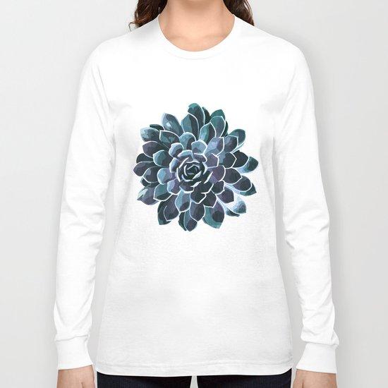 Succulent Echeveria I Long Sleeve T-shirt