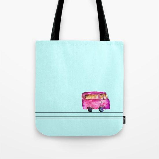 Little bus Tote Bag
