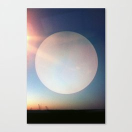 Artificial Moon Canvas Print