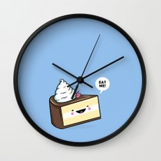 Eat Me! - Wonderland Kawaii Cake Wall Clock