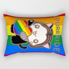 Purrride Rectangular Pillow