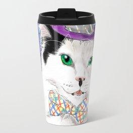 The Oreo Cat: Cat in a hat Travel Mug
