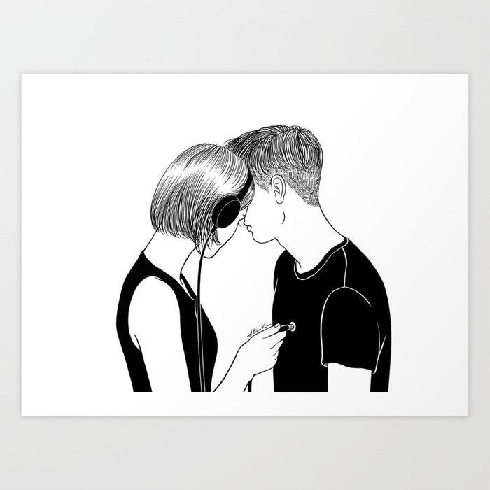 Love Song Art Print