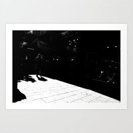 From white to black Art Print