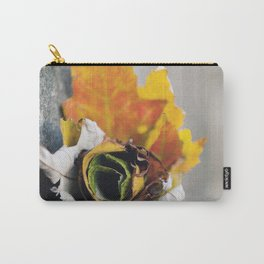 Leaf Rose Carry-All Pouch