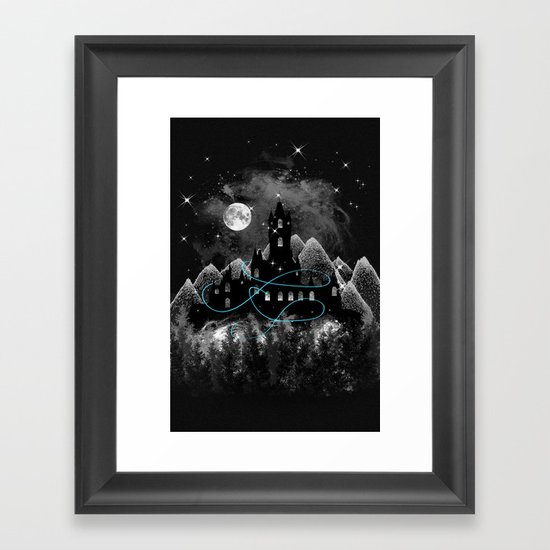The Hidden Kingdom Framed Art Print