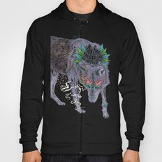 Journeying Spirit (wolf) Hoody