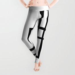 Abstract geometric pattern 33 Leggings