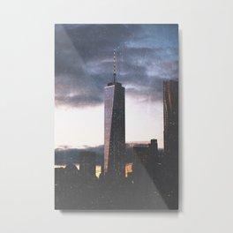 New York City One World Trade Cente Metal Print
