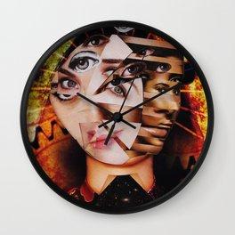 Ego Defragmentation Wall Clock
