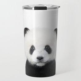 Panda Bear Art Travel Mug