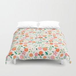 Vanilla Peaches Duvet Cover