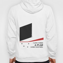 Lab No. 4 - I Love It Hannibal Smith's quotes Poster Hoody