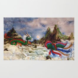 Dragon and Pheonix Rug
