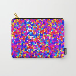 Colorful Dots Mayhem Carry-All Pouch