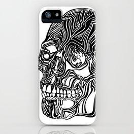 Death Mask No1 iPhone Case