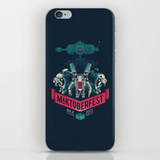 MaKtoberfest 13 iPhone & iPod Skin